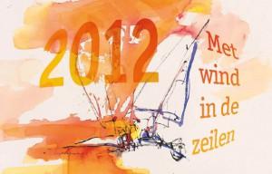 Kalender Wilskrach 2012 met illustratie van Ingrid Dingjan.